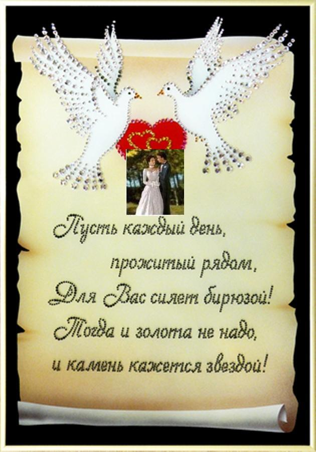 Короткое поздравление на свадьбу подруге