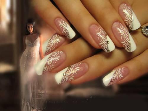 Свадебный дизайн ногтей фото дизайн